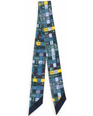 Бандана с принтом шелковый Hermès
