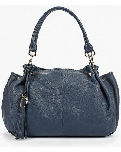 Кожаная сумка с ручками синий Artio Nardini