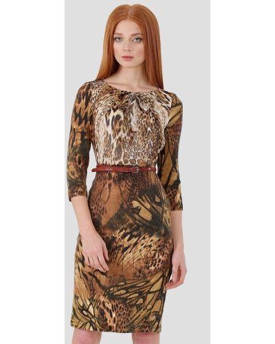 Платье - коричневое Ано