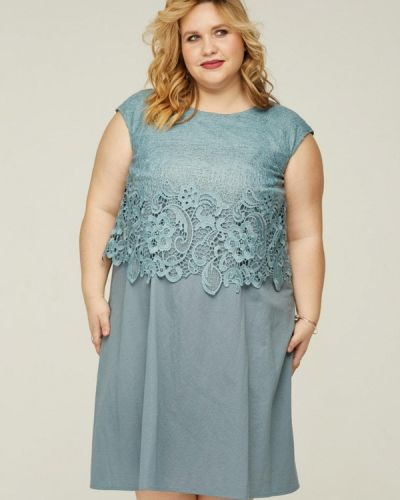 Платье миди - бирюзовое Gorda Bella