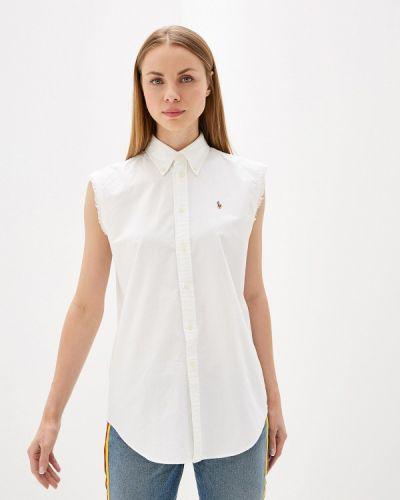 Блузка без рукавов белая весенний Polo Ralph Lauren