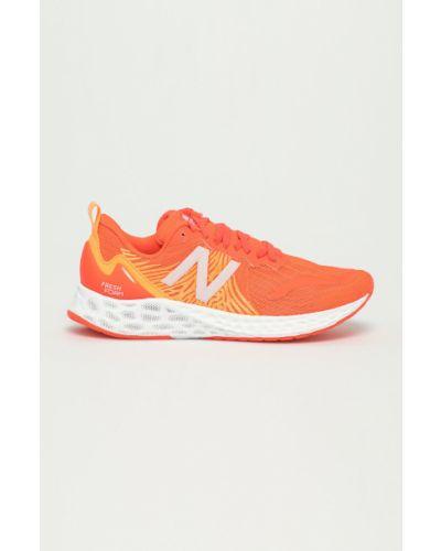 Różowe sneakersy sznurowane New Balance