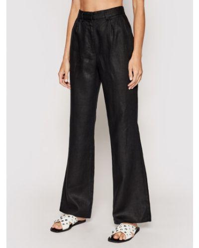 Spodnie materiałowe - czarne Na-kd