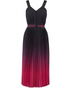 Платье плиссированное с градиентом Armani Exchange