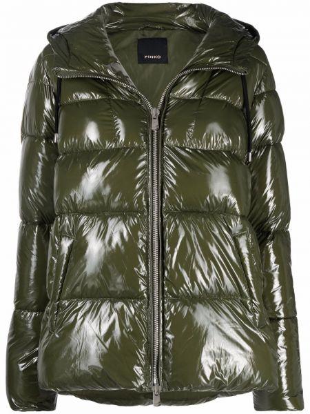 Стеганая куртка - зеленая Pinko