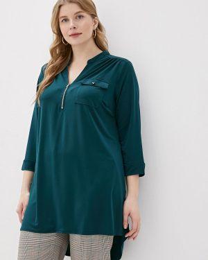 Блузка зеленый Dorothy Perkins Curve