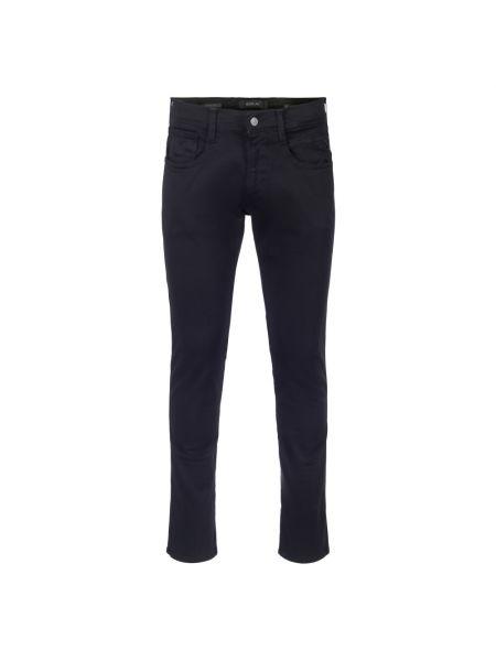 Czarne spodnie Replay