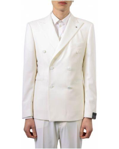 Biała kurtka Tagliatore