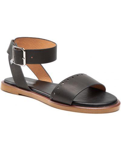 Czarne sandały Big Star
