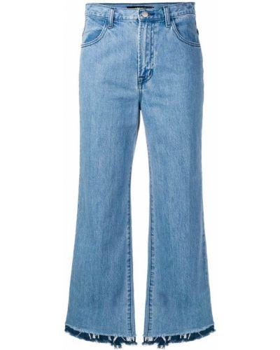 Прямые джинсы на пуговицах с карманами J Brand