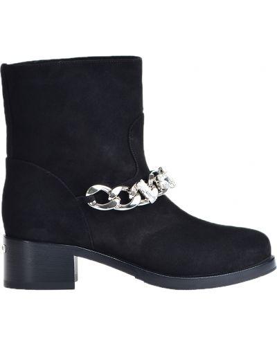Ботинки на каблуке осенние на каблуке Le Silla