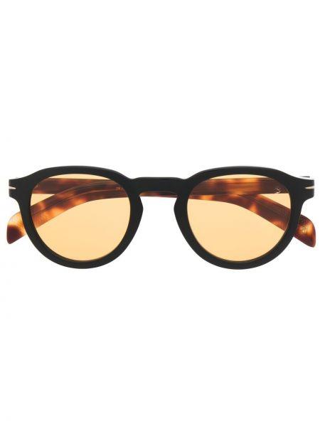 Okulary - pomarańczowe Eyewear By David Beckham