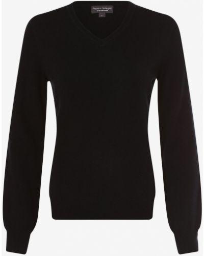 Niebieski z kaszmiru sweter Franco Callegari