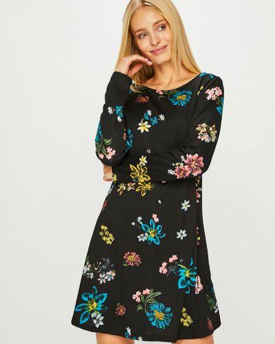 Платье мини с длинными рукавами прямое Answear