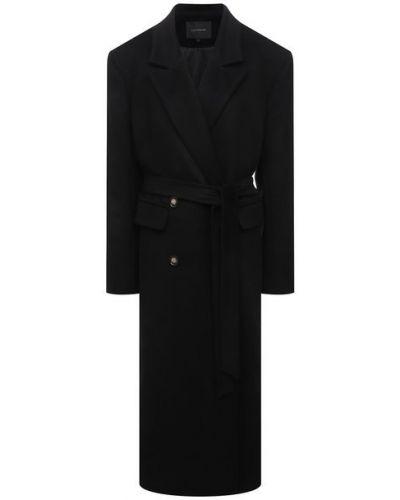 Шерстяное пальто с подкладкой Lesyanebo