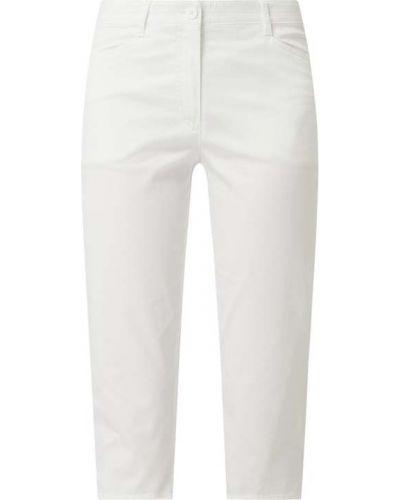 Białe bermudy bawełniane Gerry Weber Edition