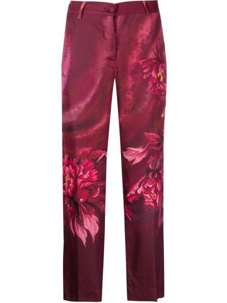 Шелковые брюки - красные F.r.s. For Restless Sleepers