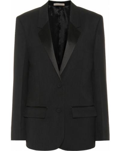 Черный пиджак Bottega Veneta