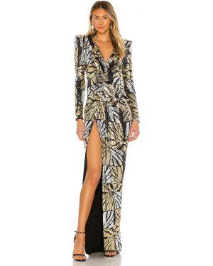 Sukienka wieczorowa dla wysokich kobiet z suwakiem Zhivago