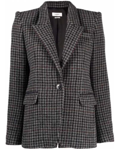 Серый пиджак на пуговицах Isabel Marant étoile