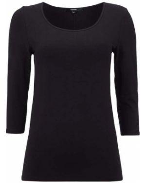 Czarna bluzka bawełniana Someday