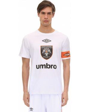 Prążkowany pomarańczowy t-shirt Omc