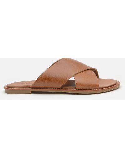 Шлепанцы - коричневые Inuovo