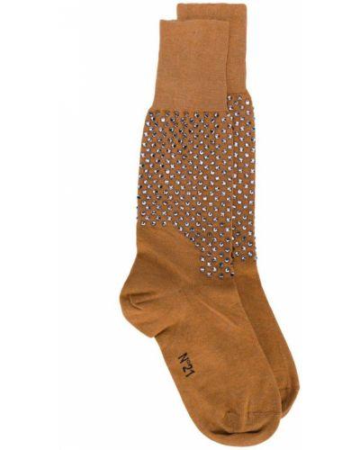 Коричневые носки N°21