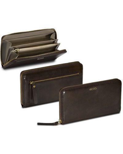 Кожаный кошелек на молнии классический Ecco