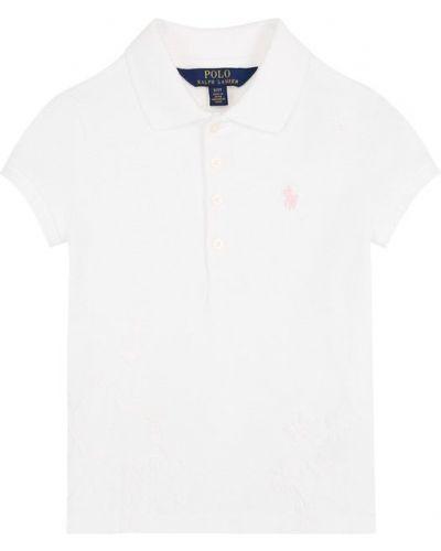 Поло с логотипом с вышивкой Polo Ralph Lauren