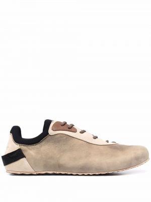 Buty sportowe skorzane - brązowe Jacquemus