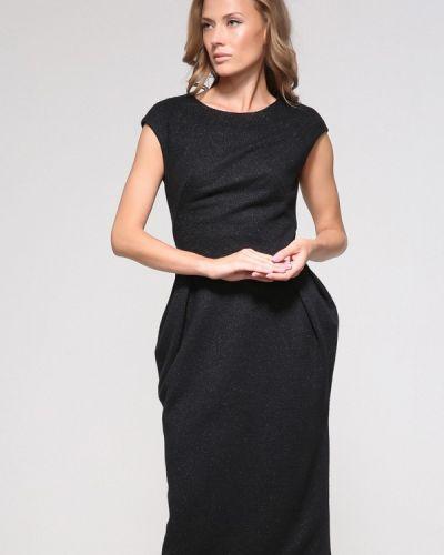 Прямое черное платье Yulia'sway