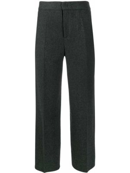 Укороченные брюки свободные шерстяные Woolrich