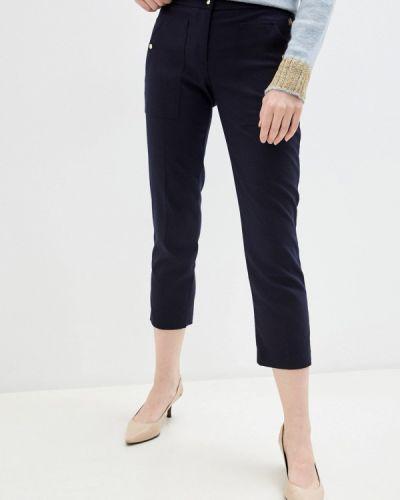 Повседневные синие брюки Trussardi Jeans