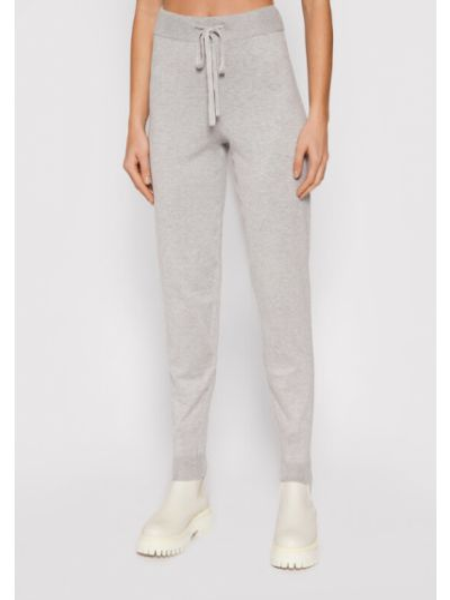 Spodnie dresowe - szare Vero Moda