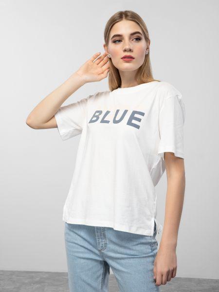 Повседневная синяя футболка Marc O'polo Denim