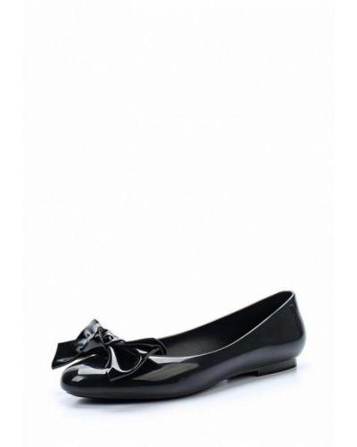 Черные балетки Melissa