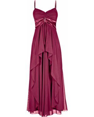 Вечернее платье с декольте макси Bonprix