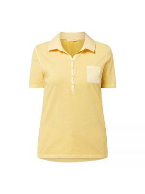 Żółty t-shirt bawełniany Marc O'polo