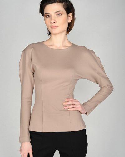 Бежевая блузка Lavlan