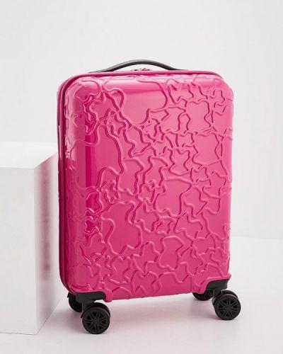 Розовый чемодан Tous
