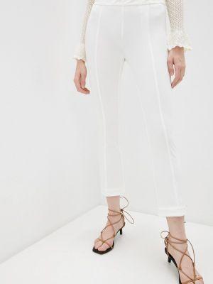 Повседневные белые брюки Twinset Milano