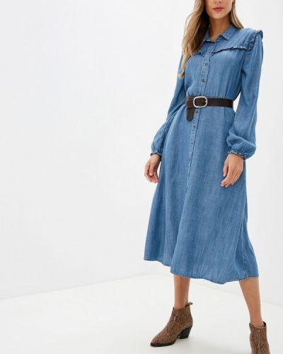 Джинсовое платье индийский осеннее Marks & Spencer