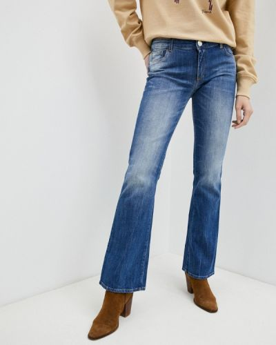 Расклешенные широкие джинсы Trussardi