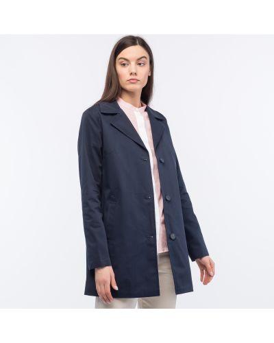 Куртка на пуговицах синий Lacoste