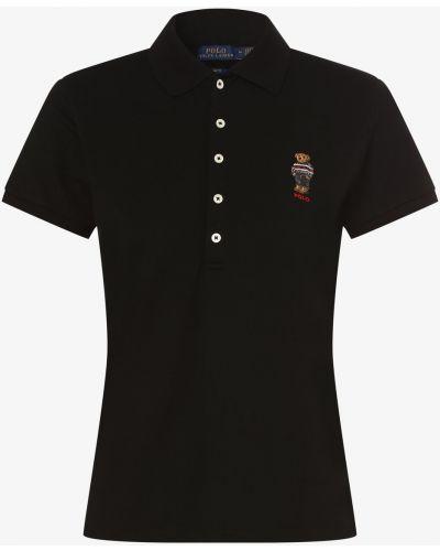 T-shirt - czarna Polo Ralph Lauren