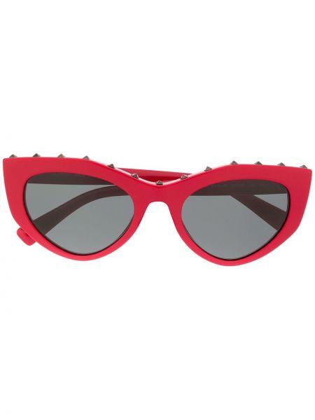 Okulary przeciwsłoneczne dla wzroku z logo szkło Valentino Eyewear
