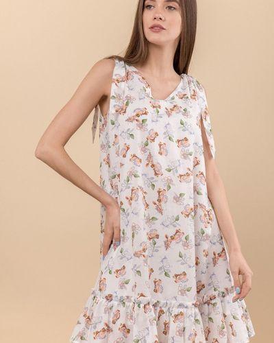 Платье с оборками Mr520