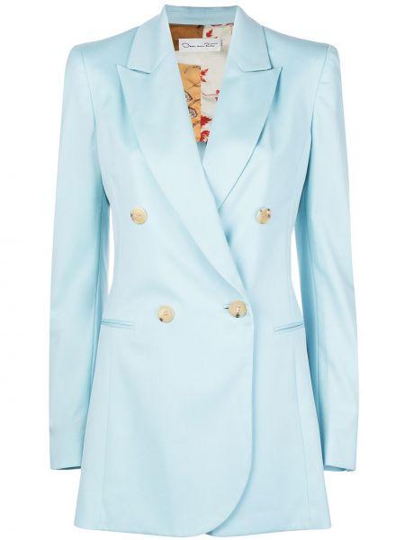 Куртка на пуговицах с карманами Oscar De La Renta