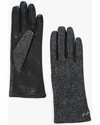 Серые текстильные перчатки Labbra